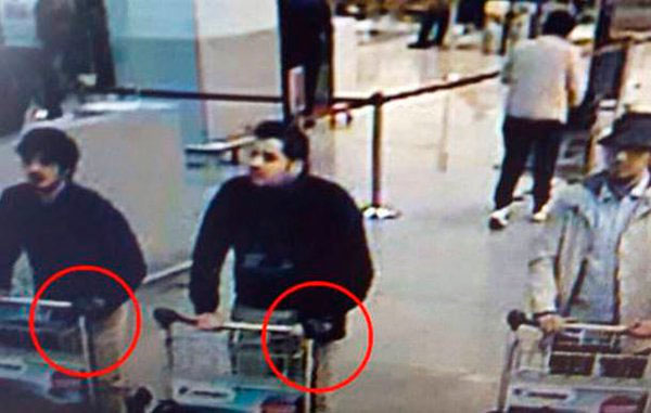 Belgica terroristas