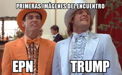 Peña y Trump