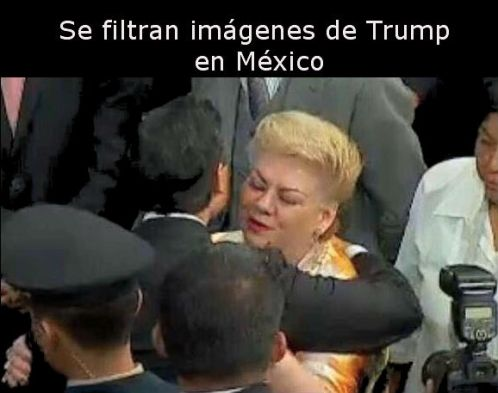 Saludo de Trump
