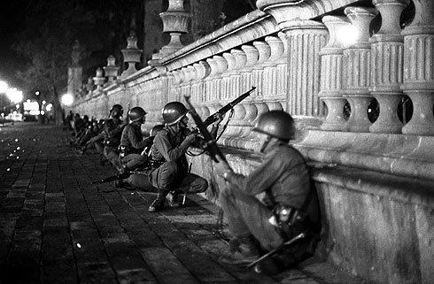 Fuerzas armadas en Tlatelolco