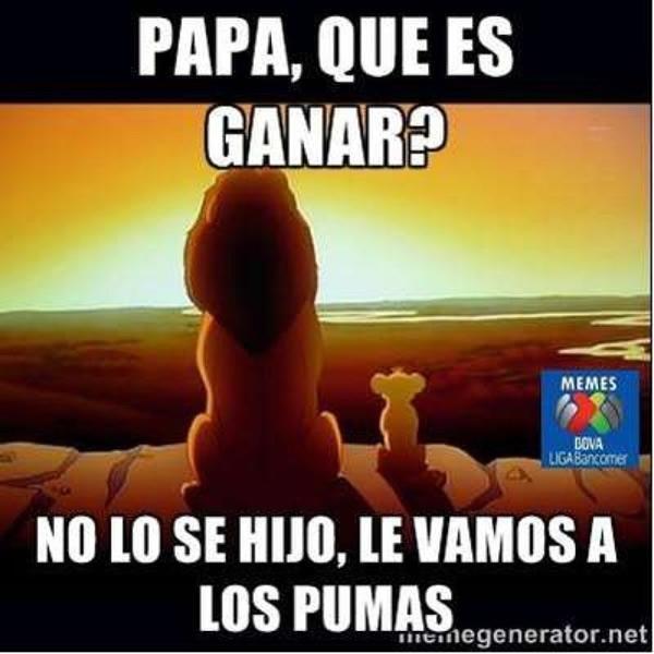 memes pumas 2?w=1300 la derrota de chivas y pumas en memes @apoyovial,Memes America Pumas 2016