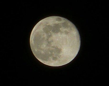 La luna rosa en la CDMX. Vía