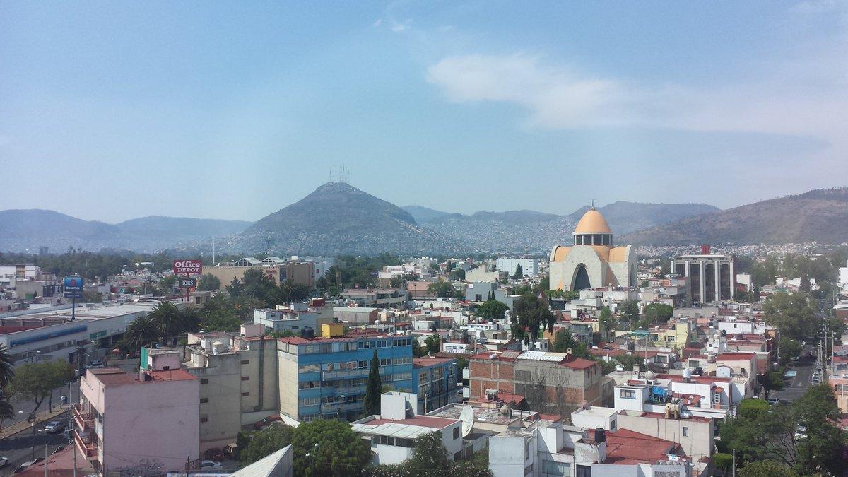 No hay mejor vista que Lindavista. Vía @webcamsdemexico