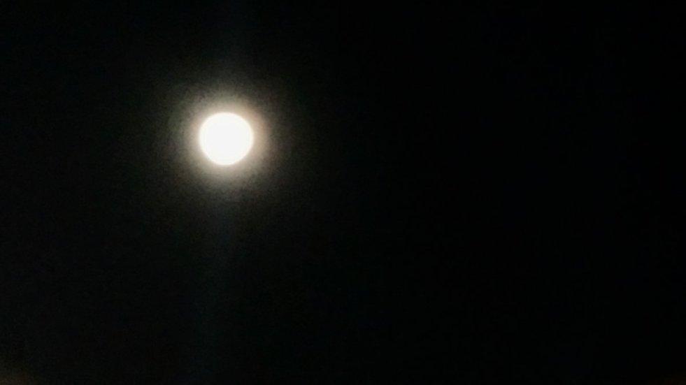 Hermosa luna.