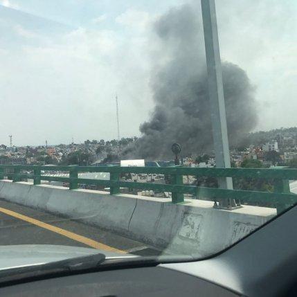 Incendio en Naucalpan
