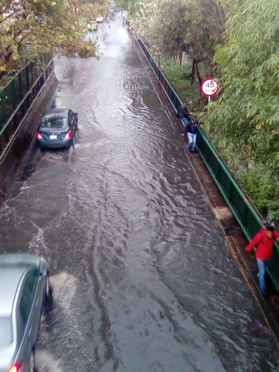 Inundacion Av.602 y Circuito.Interior y Oceanía, vía @PedroRasa84.
