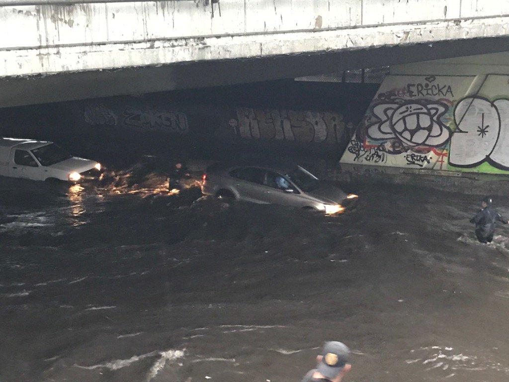 Ticoman inundado