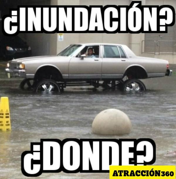 meme lluvia