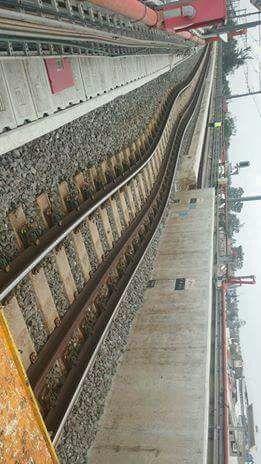 Rieles del Metro L12