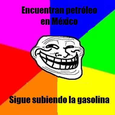 meme petroleo