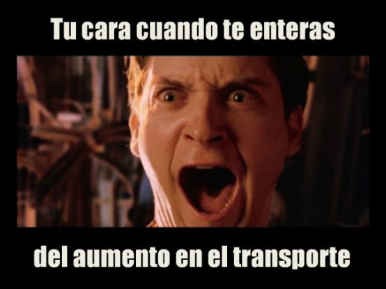 Abril meme Entra en vigor aumento en las tarifas del transporte público en la CDMX