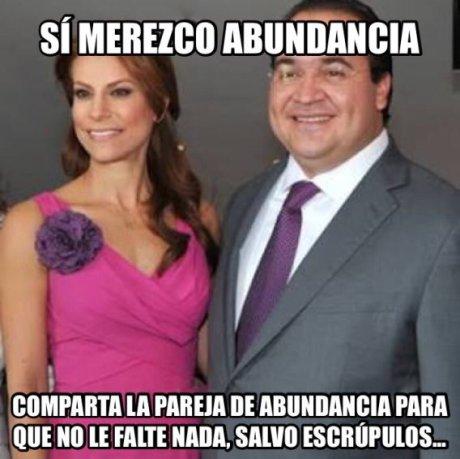 """Febrero meme Hallan bodega con bienes de Javier Duarte; """"sí merezco abundancia"""", escribía su esposa en una libreta"""
