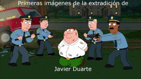 Julio Extraditan de Guatemala a Javier Duarte, ex gobernador de Veracruz
