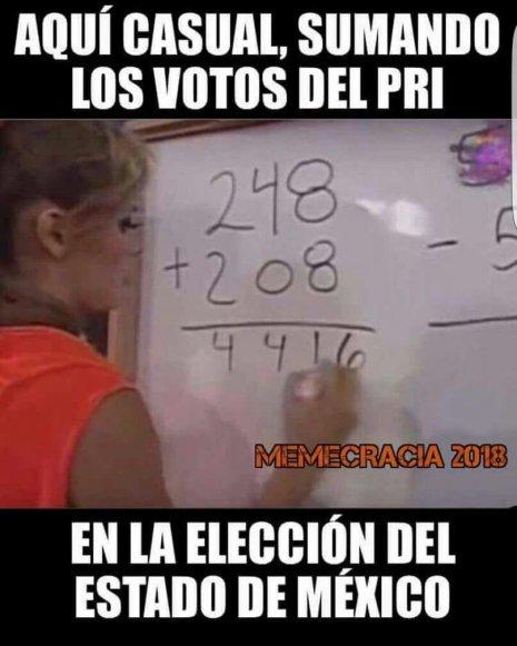 Junio meme Entre descontento social e incertidumbre, el Edomex realiza elecciones estatales_