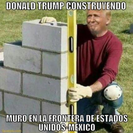 Marzo meme Autoridades de EUA publican bases para licitar muro fronterizo