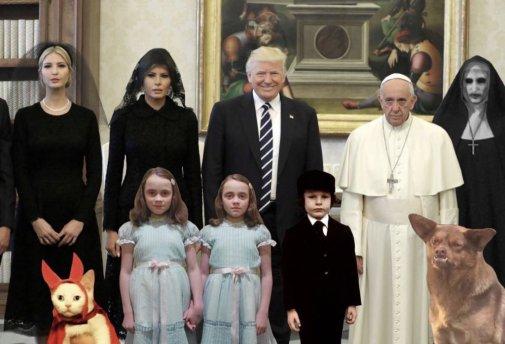 Mayo Visita de Donald Trump al Papa Francisco