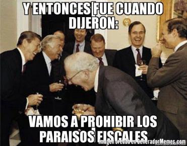 Noviembre meme Denuncian a mexicanos ligados a paraísos fiscales