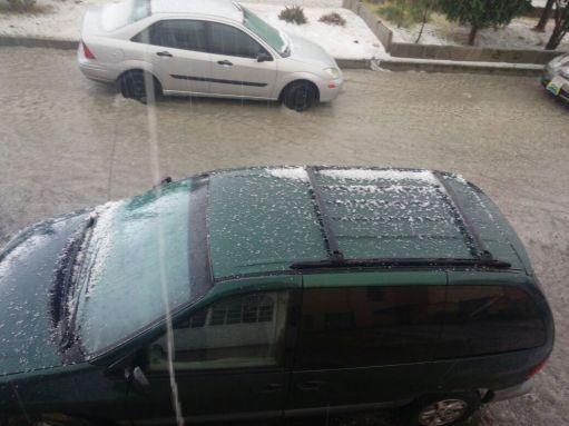 granizada y lluvia en Edomex @radio_ac