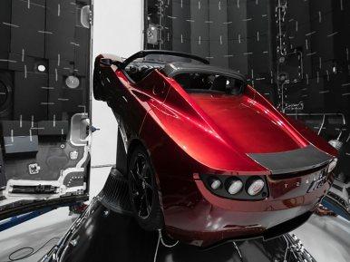 Tesla espacioe